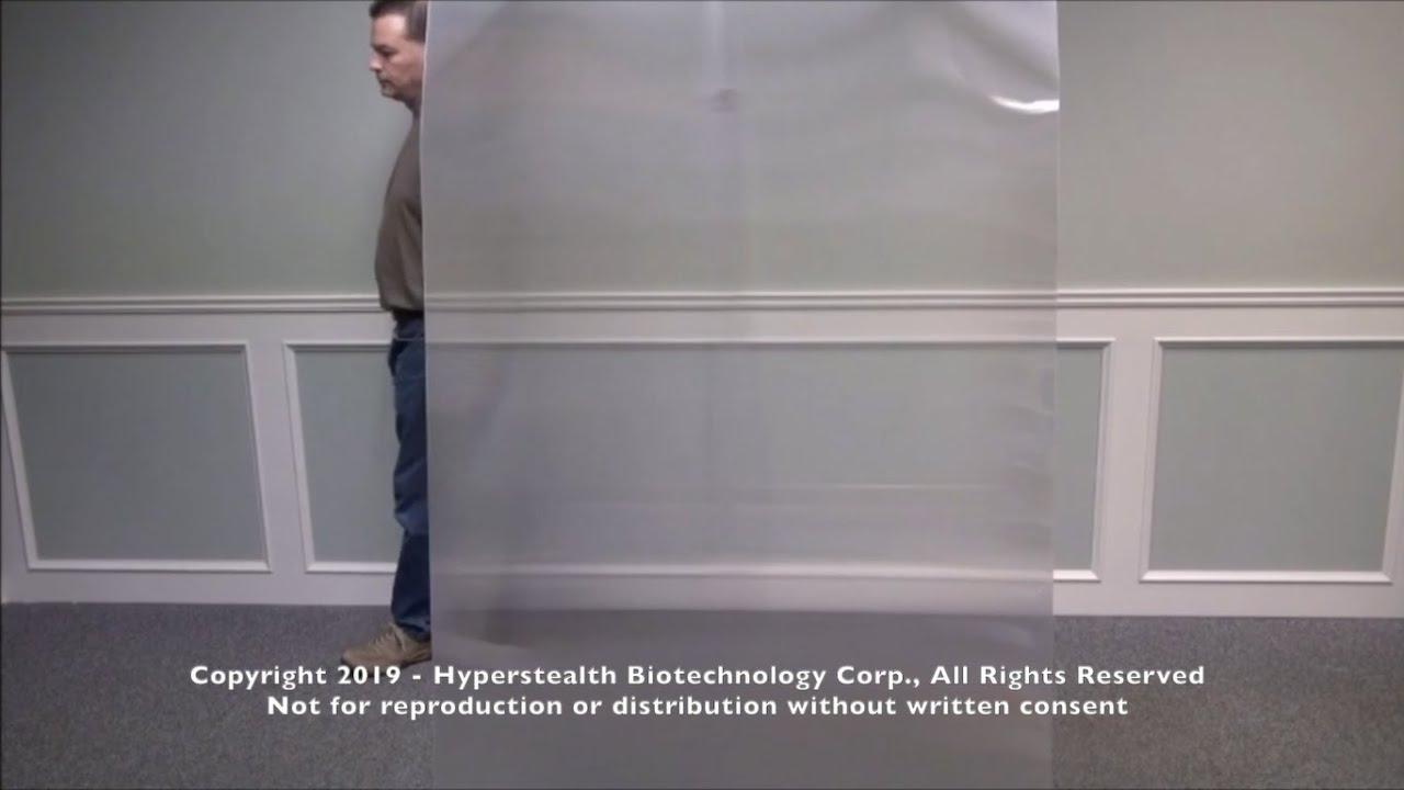 Una azienda americana ha inventato il manto dell'invisibilità