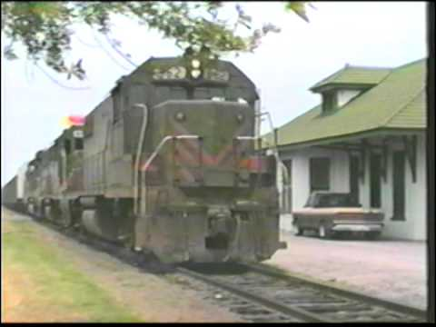 The Texas Mexican Railway before KCS and Nafta 1982 - 1996