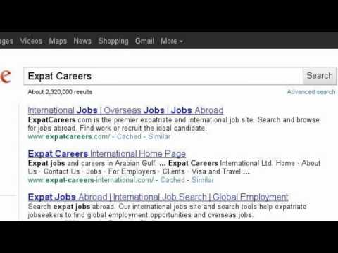 How to Search Expat Jobs?