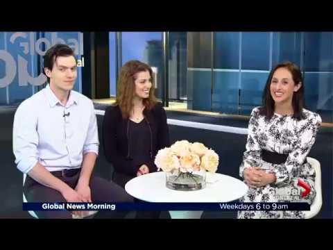 George Krissa & Sara Diamond Interview (Million Dollar Quartet) – Global Montreal