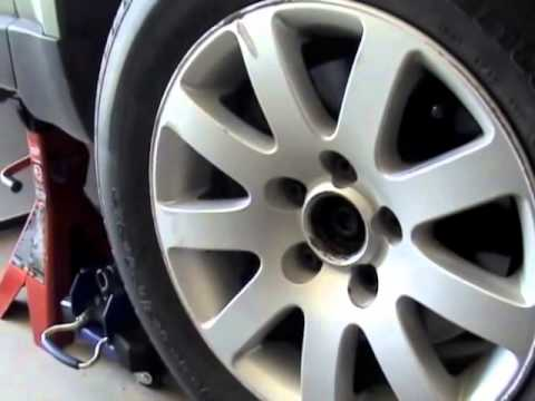 VW Passat CV Axle replace repair remove
