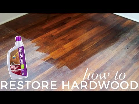How to: Restore Hardwood Floors UNDER 1H | BEFORE & AFTER Rejuvenate Review