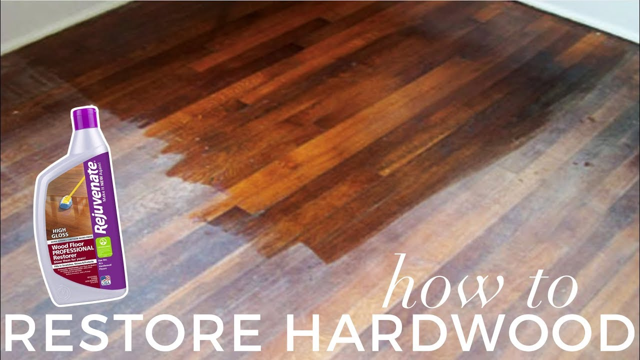 How To Restore Hardwood Floors Under 1h Before After
