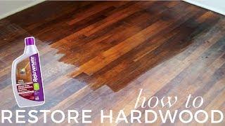 How To Re Hardwood Floors Under