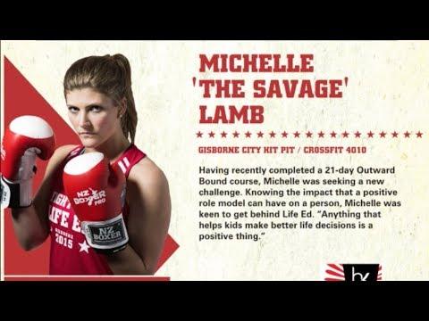 Fight for life 2015 Michelle Lamb vs Jenny Parker