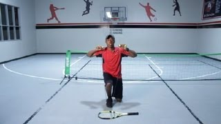 Resistance Band Exercises for Tennis Players : Tennis Tips