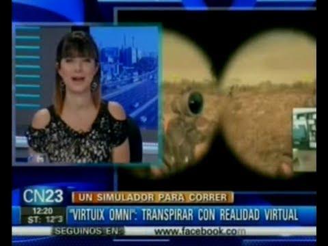 """""""Virtuix Omni"""": transpirar con realidad virtual"""