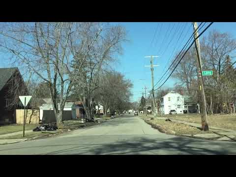 Driving to Sterling Heights, Michigan from Detroit, Michigan