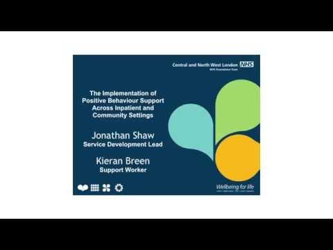 Implementing Positive Behaviour Support Across NHS Inpatient & Community Settings