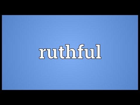 Header of ruthful