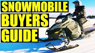 What Snowmobile Should You Buy? | Buyers Guide
