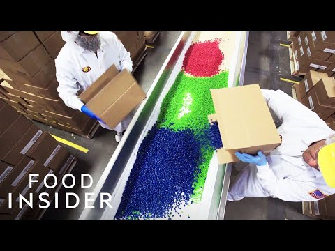 How Jelly Belly Jelly Beans Are Made  The Making Of