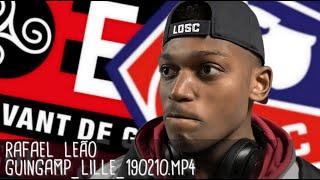 RAFAEL LEÃO RÉAGIT APRÈS GUINGAMP - LILLE (0-2) / Ligue 1 - 10 février 2019