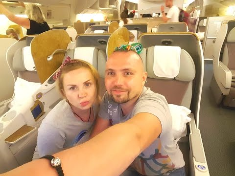 Business Class Emirates Dubai Bali Maksym Rogovtsev /СЧАСТЬЕ в БИЗНЕС КЛАСС Эмирейтс Максим Роговцев