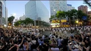 【360度動画】 博多祇園山笠追い山2018 千代流 thumbnail