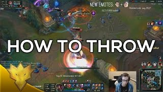 Bjergsen & Svenskeren - How to Throw - NA Duo Queue Funny Moments & Highlights
