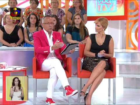 """Você na TV: Daniela P e Gabriela Barros nos bastidores da """"A Tua Cara Não Me é estranha"""""""