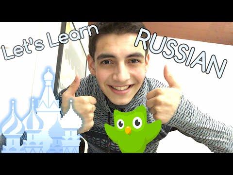 Hey, Let's Learn Russian On Duolingo! [HD]