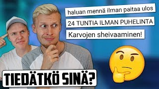 TUNNISTA TUBETTAJA VIDEON NIMESTÄ HAASTE! feat. Miklu