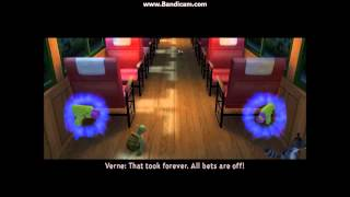 Over The Hedge Video Game: Walkthrough Part 11 - Steam Train - Mission 11