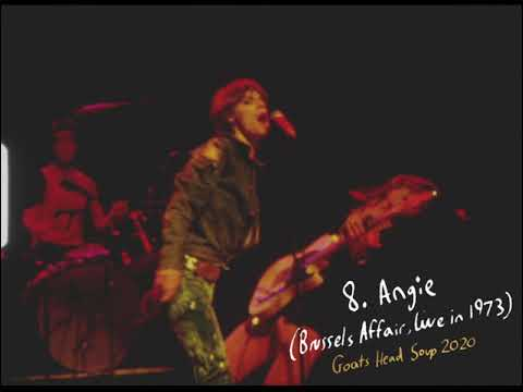 Download The Rolling Stones   Angie (Brussels Affair, Live in 1973)   GHS2020