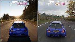 Forza Horizon 2 vs Forza Horizon 4 - 2003 Renault Sport Clio V6 Sound Comparison
