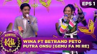 Ngefans BGT!! Wina Duet Bareng Betrand Peto Putra Onsu [GEMU FA MI RE] - Kontes KDI 2020 (3/8)