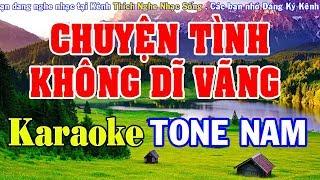Chuyện Tình Không Dĩ Vãng Karaoke - Tone Nam - Nhạc Sống Karaoke