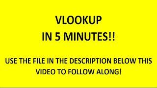 Excel bir Başka nasıl 5 dakika içinde Öğrenin!