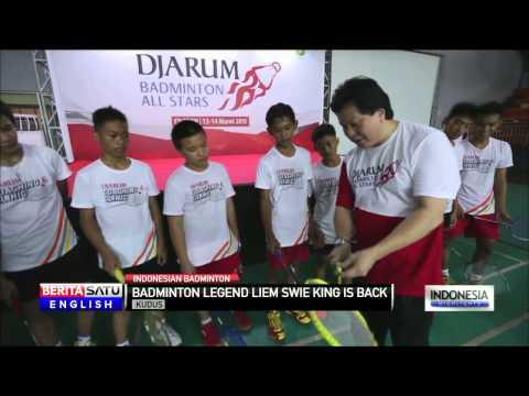 Legendary Player Liem Swie King Returns to Badminton World