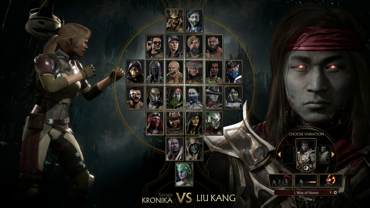 Mortal Kombat 11 Ultimate Mod Release - Play as Kronika and NPCs