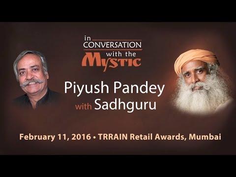 Piyush Pandey in Conversation with Sadhguru - TRRAIN Awards