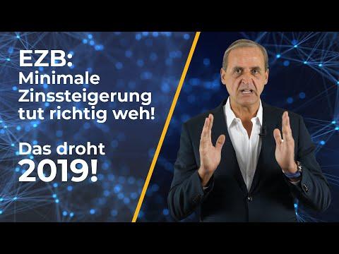 EZB: Minimale Zinssteigerung tut richtig weh - Das droht 2019! Meine Analyse ... | Florian Homm