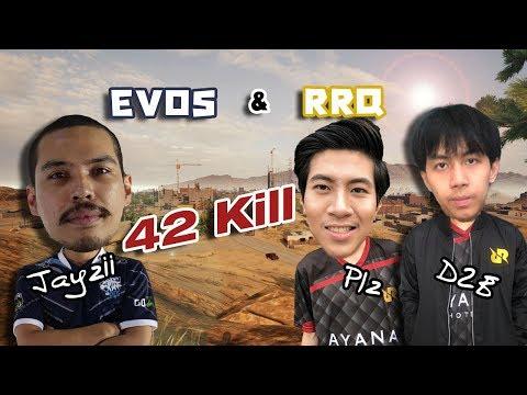 PUBG M : RRQ & EVOS 42 Kill Mirama