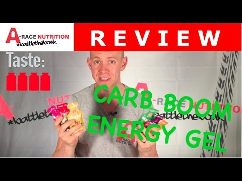 Carb Boom Energy Gel Review. A new fruit based, and more natural energy gel.