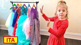Cinque Bambini - Mania si veste con uno strano vestito