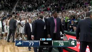 Florida Gulf Coast at Michigan State - Men