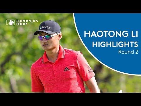 Haotong Li Highlights | Round 2 | 2018 Volvo China Open