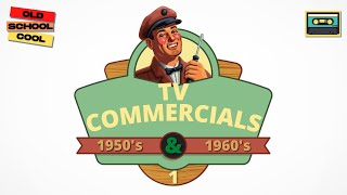 Vintage 1950's and 60's TV Commercials & Ads #1