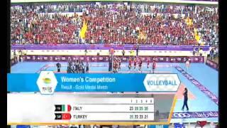30-06-2013: il punto dell'oro delle azzurre ai giochi del mediterraneo