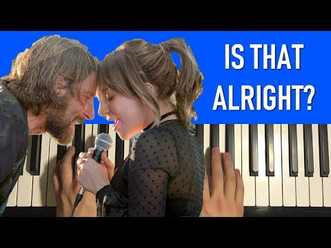 HOW TO PLAY - Lady Gaga - Is That Alright? (Piano Tutorial Lesson)