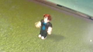 Playing roblox with my cousin