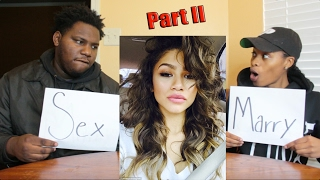 MARRY KILL OR SEX CHALLENGE PART 2!!