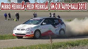 Mikko Heikkilä - SM O.K. Auto-ralli 2018