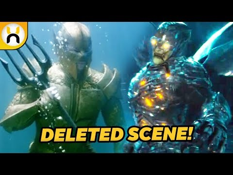 Justice League Deleted Scene Featured Atlanteans Fighting Parademons