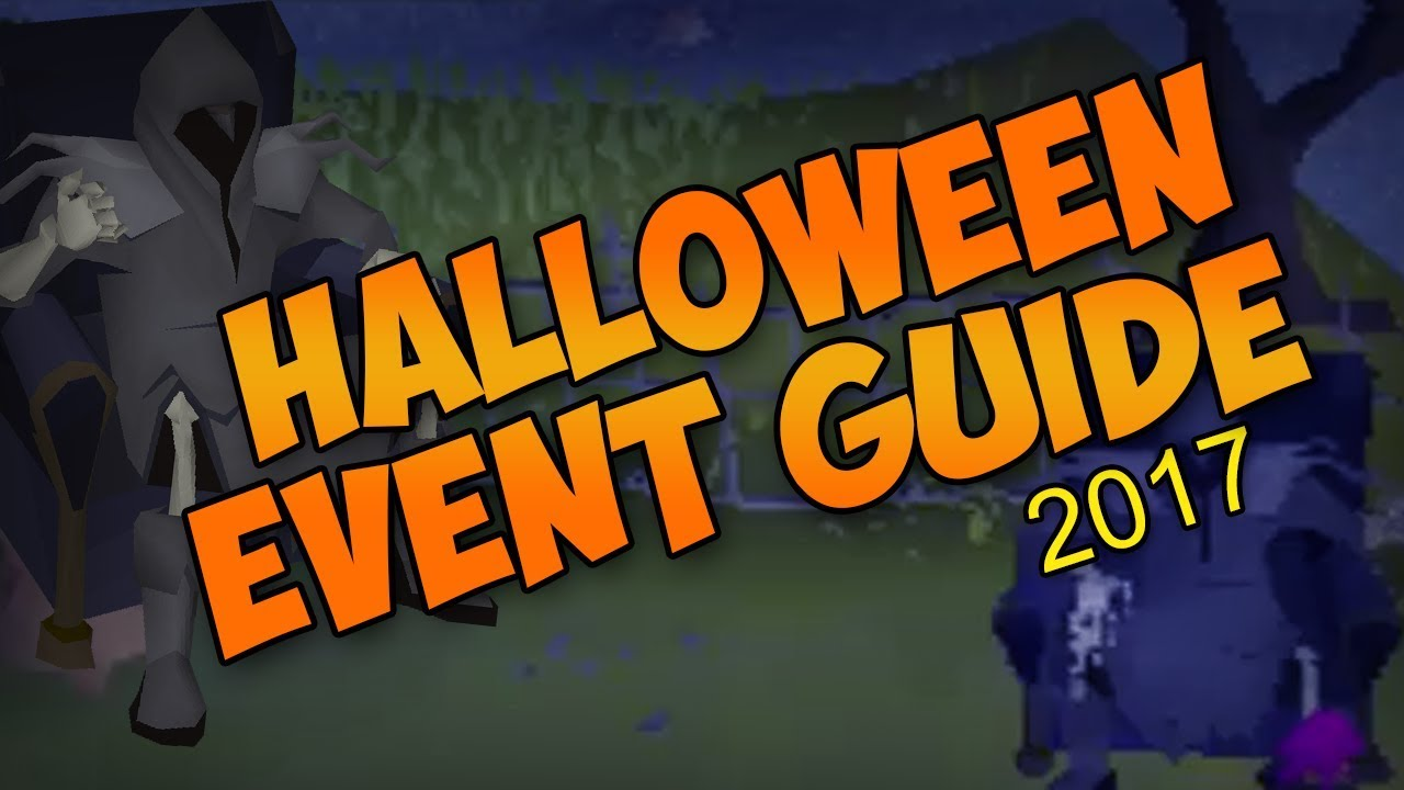 OSRS Halloween Event Guide 2017 - YouTube