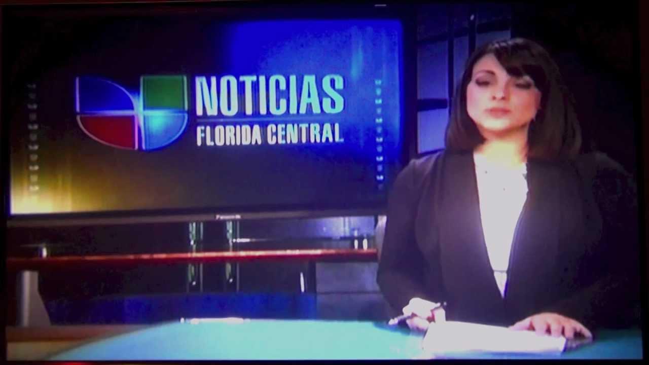 Solar Map Project Noticias Univision Florida Central Monday Feb 18, 2013  WVEN