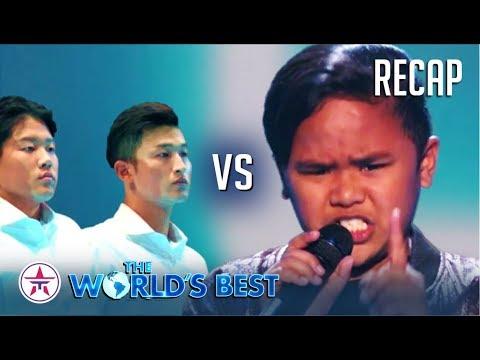 The World's Best: TNT Boys EPIC Battle vs Korean Group Emotional Line!