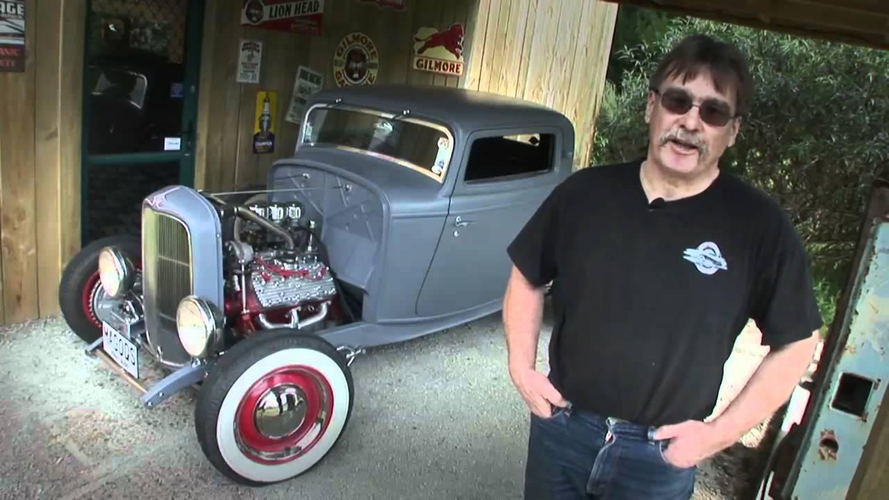 32 Highboy Ford 5 0 Engine Diagram Wiring Sample Motorola Alternator 9db2lj2b58 Flathead Powered 1932 Coupe Youtube