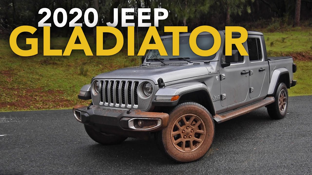 2020 Jeep Gladiator Review First Drive Youtube